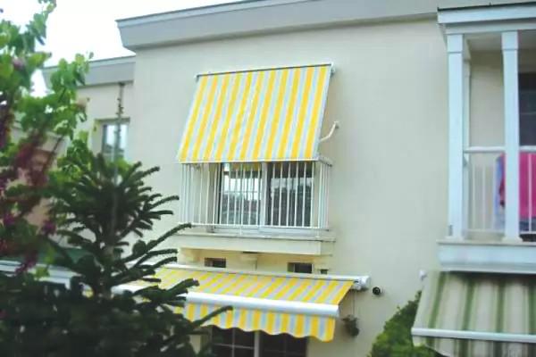 balkon tente