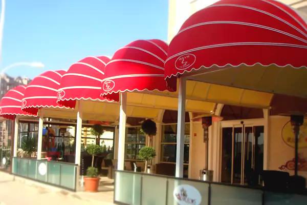 dekoratif tenteler